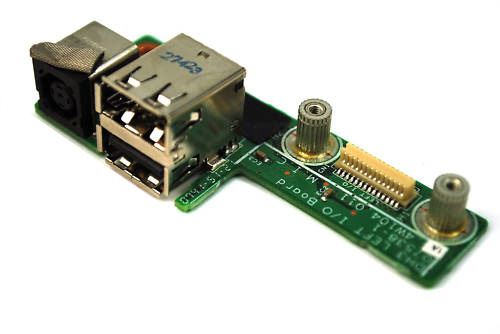 Dell XPS M1530 1530 USB / AC jack board 48.4w104.011 - Click Image to Close