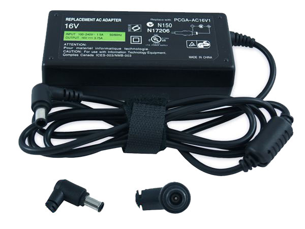 Sony Vaio PCGA-AC16V Ac adapter PCG- Z1A SR TR1 series - NEW - Click Image to Close